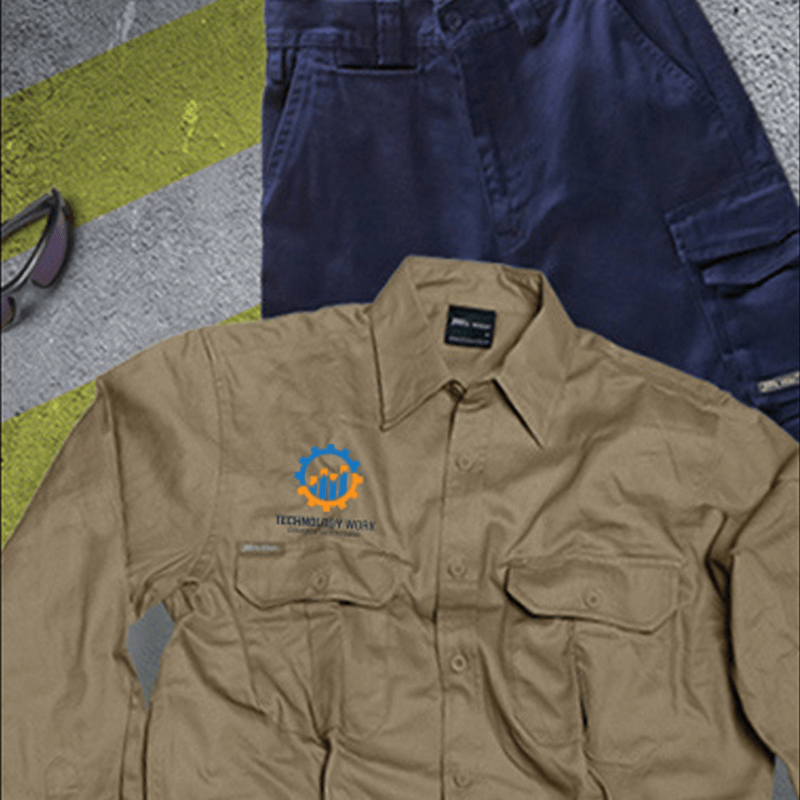 custom printed workwear apparel