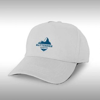 sports style hat with printed beer company logo