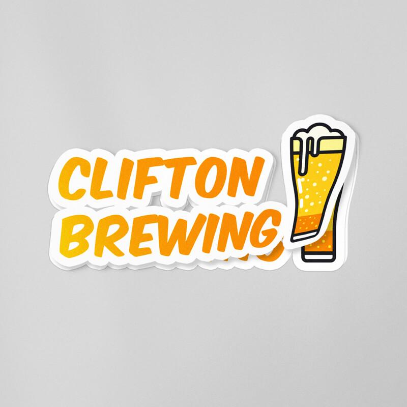 Custom Printed and Die Cut Shape for Brewery