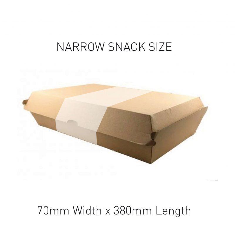 Narrow Snack Box Sleeve Sizing