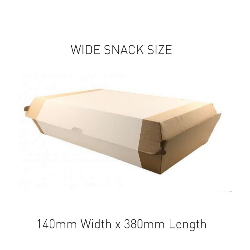 Wide Snack Box Sleeve Sizing